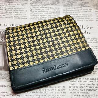 ラルフローレン(Ralph Lauren)の【RALPH LAUREN】二つ折り財布 千鳥格子柄(折り財布)