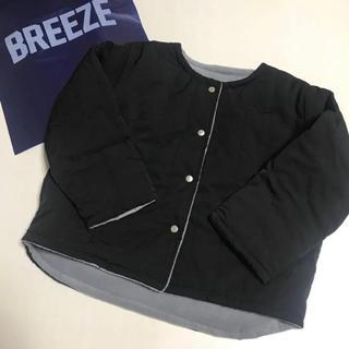 ブリーズ(BREEZE)のオールオルン ノーカラーブルゾン(ジャケット/上着)