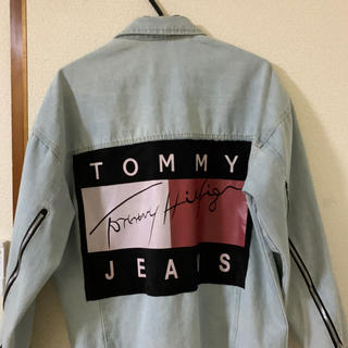 トミーヒルフィガー(TOMMY HILFIGER)の【最終値下げ】TOMMY HILFIGER デニムジャケット (Gジャン/デニムジャケット)