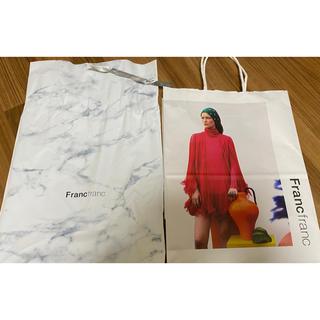 フランフラン(Francfranc)のFrancfranc フランフラン ラッピング 包装 プレゼント ギフト 袋 (ショップ袋)