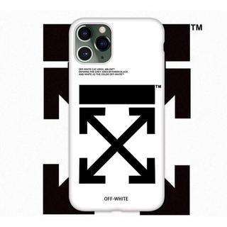 オフホワイト(OFF-WHITE)のお洒落なデザイン  オフホワイト  iPhoneケース  他のサイズもあります(iPhoneケース)