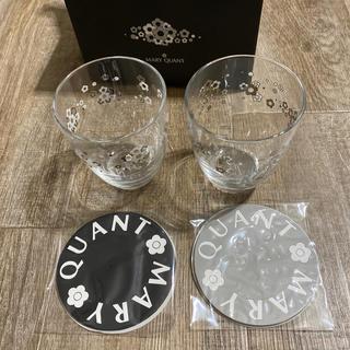 マリークワント(MARY QUANT)のMARY QUANT グラスセット(未使用品)(グラス/カップ)