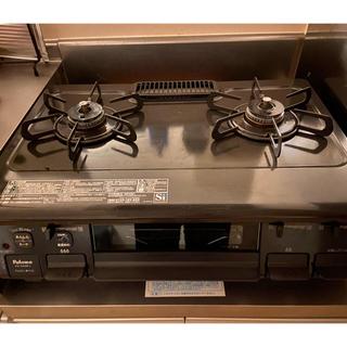 パロマピカソ(Paloma Picasso)のパロマ ガステーブル PA-S42B 2口コンロ 59cm幅(調理機器)