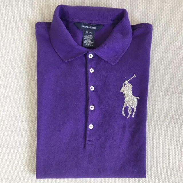 Ralph Lauren(ラルフローレン)の《美品》ラルフローレン レディース ポロシャツ レディースのトップス(ポロシャツ)の商品写真