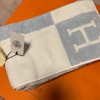 エルメス(Hermes)のHERMES バスタオル 新品、未使用(タオル/バス用品)