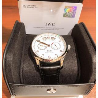 インターナショナルウォッチカンパニー(IWC)のiwc時計アニュアルカレンダー中古美品(腕時計(アナログ))