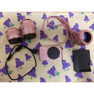 Nikon - Nikon S1 ピンク ミラーレス一眼 N1S1WZPK カメラ ニコン