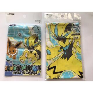 ポケモン(ポケモン)のポケットモンスター サン&ムーンランチ巾着・ランチクロス(弁当用品)