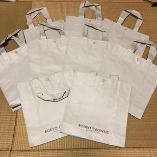 ロデオクラウンズワイドボウル(RODEO CROWNS WIDE BOWL)の【未使用】ロデオ★ショップ袋9枚(小)(ショップ袋)