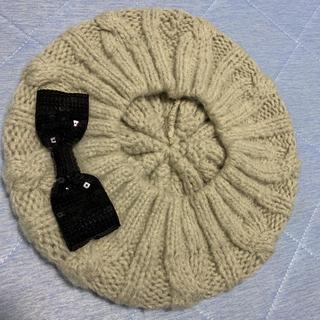 ジルスチュアート(JILLSTUART)のJillニット ベレー帽(ハンチング/ベレー帽)