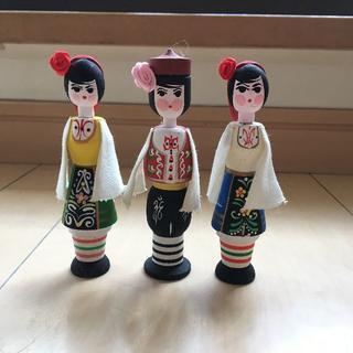 ミナペルホネン(mina perhonen)のブルガリア 土産 ローズ 香水 人形 置物 東欧 インテリア 雑貨 北欧(置物)
