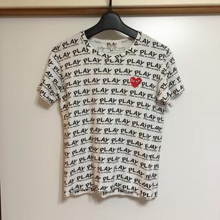コムデギャルソン(COMME des GARCONS)のPLAY COMMEdesGARCONS 半袖Tシャツ(Tシャツ(長袖/七分))