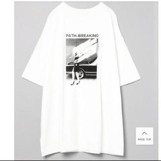 ジーナシス(JEANASIS)のJEANASIS 白ビッグT☆(Tシャツ(半袖/袖なし))