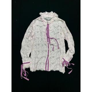 マメ(mame)のMURRAL 17S/S All Lace Ribbon Blouse(シャツ/ブラウス(長袖/七分))