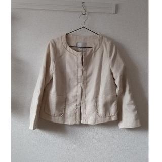 クチュールブローチ(Couture Brooch)のクチュールブローチ ノーカラーツイードジャケット      アプワイザーリッシェ(ノーカラージャケット)