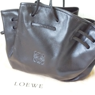 ロエベ(LOEWE)の新品 LOEWE ロエベ ショルダーバッグ ポシェット ブラック(ショルダーバッグ)