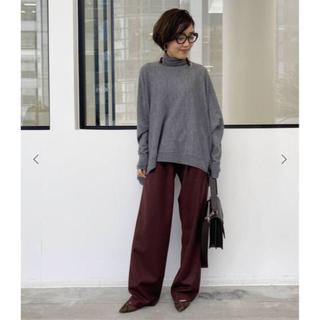 アパルトモンドゥーズィエムクラス(L'Appartement DEUXIEME CLASSE)のアパルトモン INDRESS インドレス  Wide Pants ブラウン 34(カジュアルパンツ)