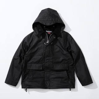 シュプリーム(Supreme)のSupreme barbour waxed jacket 黒 M(ブルゾン)