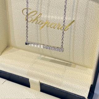 ショパール(Chopard)のIceCubeシリーズ幾何ネックレス、スター質感抜群(ネックレス)