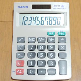 CASIO - カシオ 卓上 10桁電卓 MH-10T-N