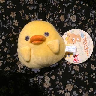 レア キイロイトリ ひよこ ヒヨコ 鳥 リラックマ がま口 新品タグつき アピナ(キャラクターグッズ)