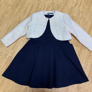 クミキョク(kumikyoku(組曲))のミキハウス クミキョク フォーマル ワンピース 110(ドレス/フォーマル)