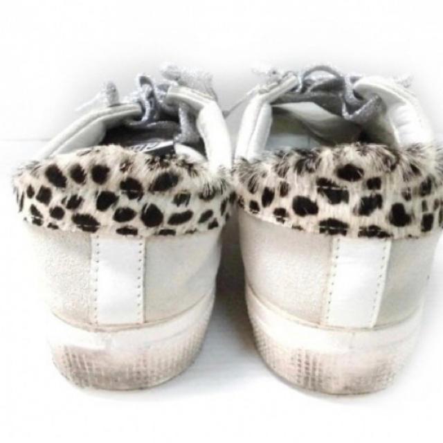 L'Appartement DEUXIEME CLASSE(アパルトモンドゥーズィエムクラス)のゴールデングース GOLDEN GOOSE スニーカー 37 ハラコ×スエード  レディースの靴/シューズ(スニーカー)の商品写真