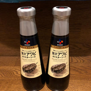 コストコ(コストコ)の贅沢アワビ オイスターソース 350g  2本セット(調味料)