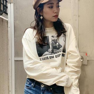 ジェイダ(GYDA)のPHOTショートロンT(Tシャツ(長袖/七分))