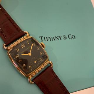 ティファニー(Tiffany & Co.)の激レア★Tiffany アールデコ ヴィンテージ ブローバ ティファニー(腕時計)