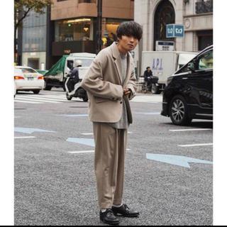 サンシー(SUNSEA)の求 Ryo takashima セットアップ ivory(テーラードジャケット)