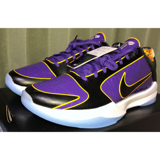 ナイキ(NIKE)のNike Kobe 5 Protro Champ Lakers 28.5(スニーカー)