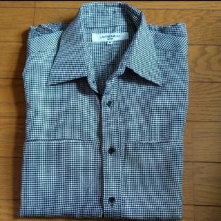 ロートレアモン(LAUTREAMONT)のLAUTREAMONT チェックシャツ 長袖 Mサイズ(シャツ)