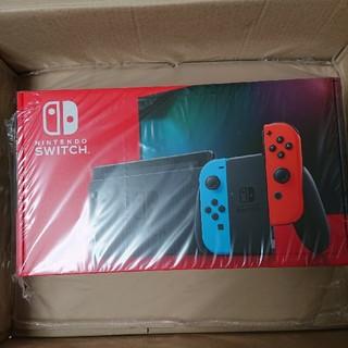 ニンテンドースイッチ(Nintendo Switch)の新型 Nintendo Switch 本体 ネオンブルー ネオンレッド(家庭用ゲーム機本体)