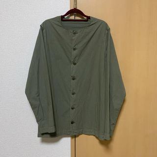 ポールハーデン(Paul Harnden)のCASEY CASEY 19ss ノーカラーシャツ(シャツ)