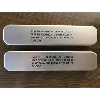 新品未使用 zucca  ペンケース ボールペン 2個セット
