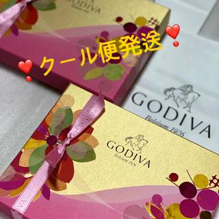 チョコレート(chocolate)の★ゴディバ★13日限定出品★チョコレート 2点セット★クール便発送(菓子/デザート)