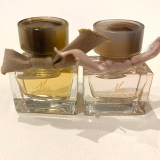 バーバリー(BURBERRY)の★Burberry ミニ香水2個 各5ml(香水(女性用))