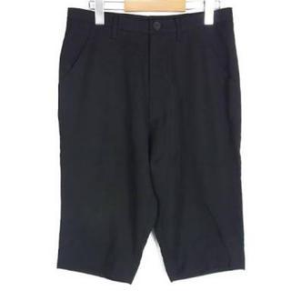 ユリウス(JULIUS)のJULIUS ユリウス ハーフパンツ 半ズボン サルエルパンツ 黒 メンズ(サルエルパンツ)
