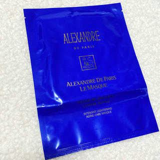 アレクサンドルドゥパリ(Alexandre de Paris)の新品 アレクサンドルドゥパリ ル マスク シート状トリートメントマスク 1枚(パック/フェイスマスク)