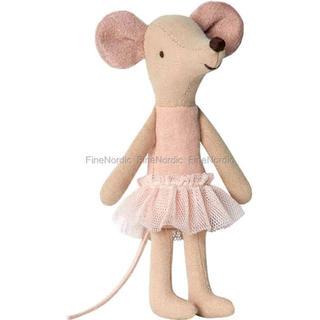 ボンポワン(Bonpoint)のmaileg ネズミちゃんバレリーナ(ぬいぐるみ/人形)