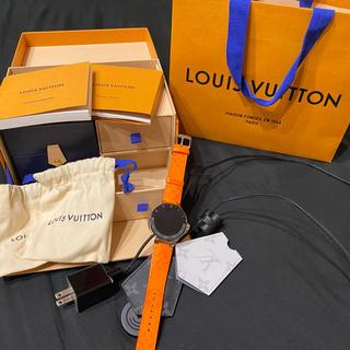 ルイヴィトン(LOUIS VUITTON)の【LOUIS VUITTON】タンブールホライゾンV2【新品同様】(腕時計(デジタル))