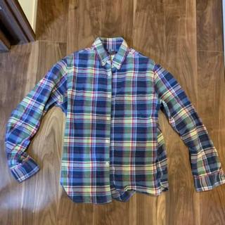 ユナイテッドアローズ(UNITED ARROWS)のユナイテッドアローズ ネルシャツ 10年程前の品 ヴィンテージ感(シャツ)