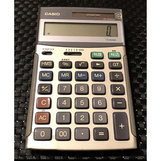 CASIO - 定価)11,880円 電卓 CASIO カシオ 電卓 JS- 12eco