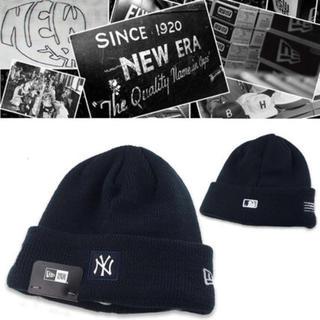 ニューエラー(NEW ERA)のNew Era NY New York Yankees ニット帽(ニット帽/ビーニー)