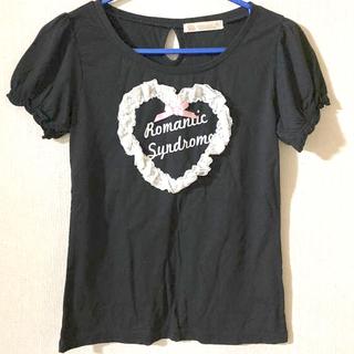 アンクルージュ(Ank Rouge)のAnk Rouge ハート模様 Tシャツ(Tシャツ(半袖/袖なし))