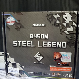 B450M STEEL LEGEND(PCパーツ)
