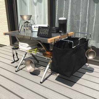 ユニフレーム(UNIFLAME)のユニフレーム 焚き火テーブル用 ステンレスラックとガビングフレーム用帆布カバー(テーブル/チェア)