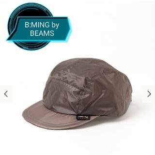 ビームス(BEAMS)のB:MING by BEAMS CORDURA(R)サイクルキャップ GREY(キャップ)