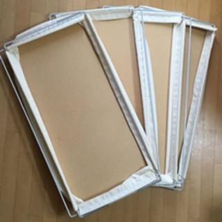 ムジルシリョウヒン(MUJI (無印良品))の無印良品 ユニットシェルフ用 帆布 バスケット 大×4セット(その他)